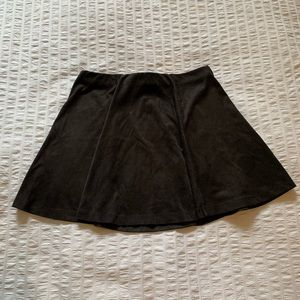 2/$10 Forever 21 Suede Skirt